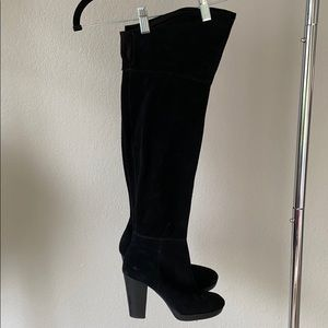 Nine West heeled over the knee boots